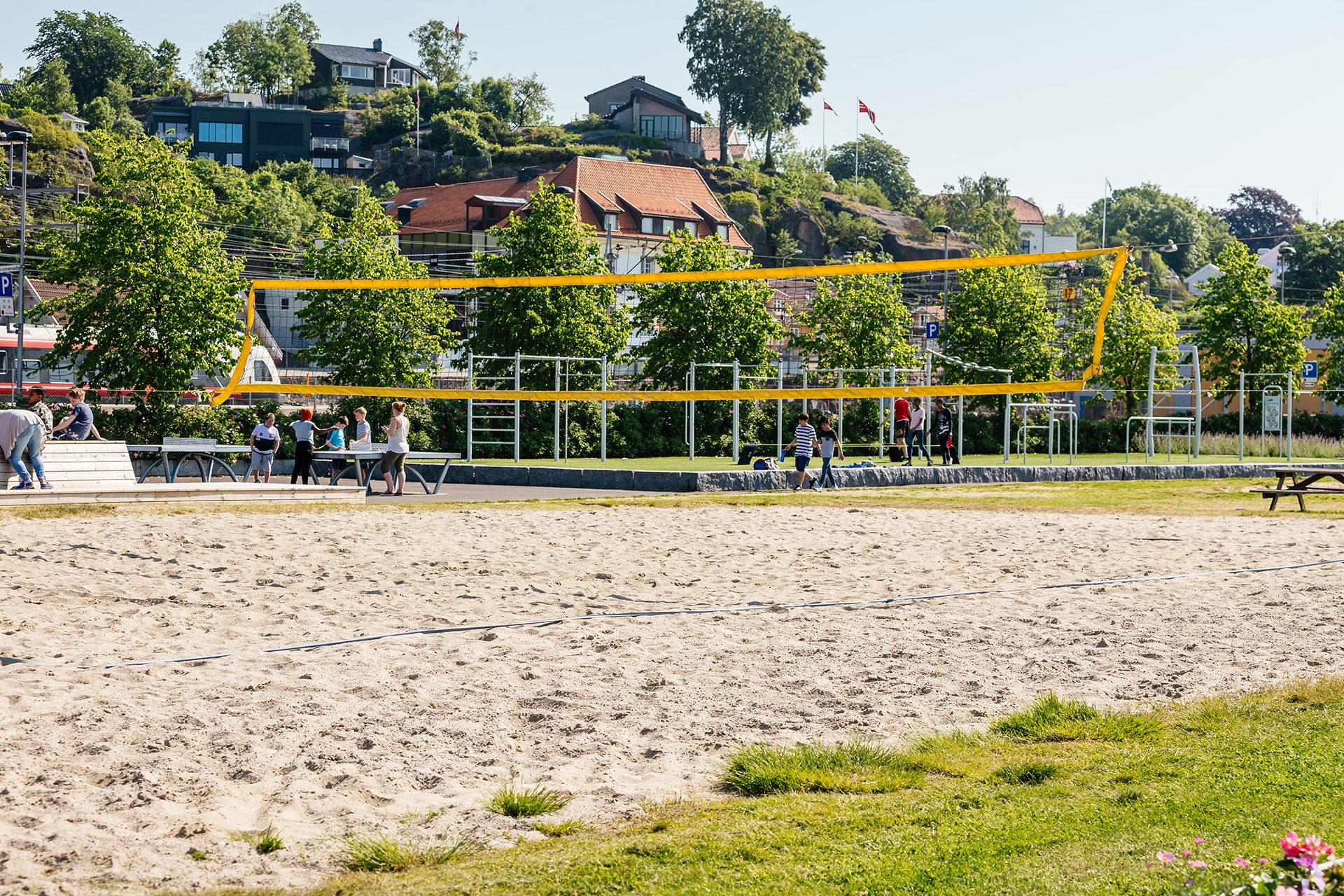 Volleyballbane i Larvik