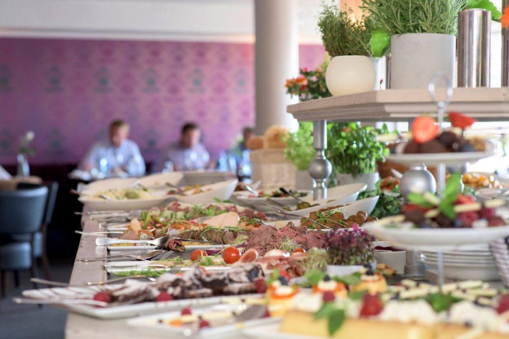 Buffet på Grand Hotel